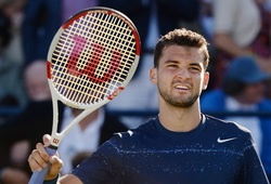 Grigor Dimitrov took his first grass court title at The Queen's Club