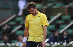 Wawrinka was dumped out of the French Open by Guillermo Garcia-Lopez